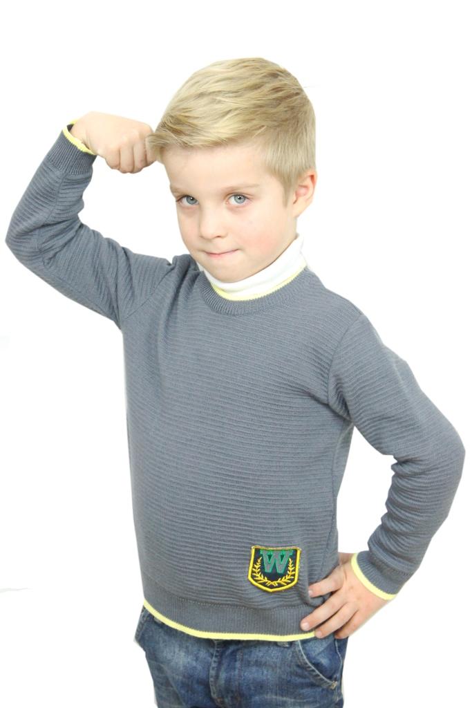 Джемпер для мальчика дошкольной и младшей школьной группы